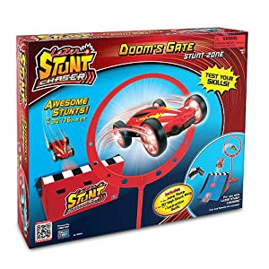 Lazer Stunt Chaser Doom's Gate Ring and Ramp Set