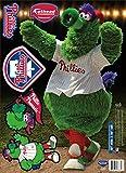 MLB Philadelphia Phillies Philly Phanatic Fathead Teammate Wall Decal, 10 x 16-Inch, Red