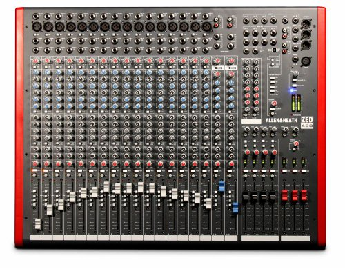 Allen & Heath Zed-420 16 Mic/Line 20 Input Mixer Pa Or Recording Mixer With Computer Io