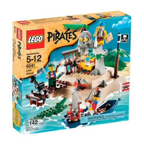 LEGO Pirates Loot Island Amazon.com