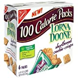 100 Calorie Packs Lorna Doone Shortbread Cookie Crisps, 6-Count Boxes (Pack of 6)