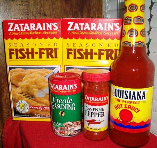 Zatarain 39 s fish fry with seasoning sampler baking bounty for Zatarain s fish fri