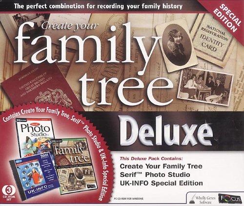 Create Your Family Tree Deluxe with Photo Studio & UK-INFO