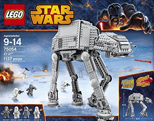LEGO Star Wars AT-AT Building Toy (75054) 1137pcs by LEGO