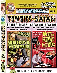 Zombies vs. Satan Double Digital Creature Feature (Wiseguys vs. Zombies / Meat for Satan's Icebox)