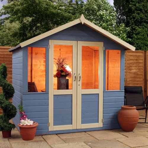 OXFORD: 7FT x 5FT DEVON SUMMERHOUSE **SPECIAL** (10mm Solid OSB Floor)