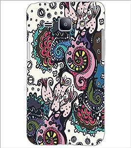 PrintDhaba Graffiti D-5319 Back Case Cover for SAMSUNG GALAXY J1 (Multi-Coloured)