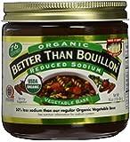 Better Than Bouillon Organic Vegetable Base, Reduced Sodium (Large 16 oz Jar)