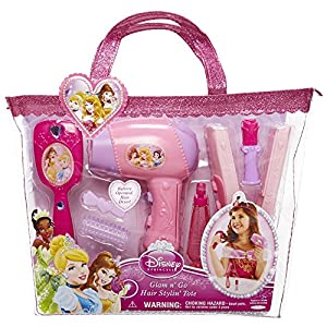 Amazon Disney Princess Glam Hair Stylin Tote Toys