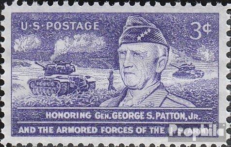 USA 646 (kompl.Ausg.) postfrisch 1953 Smith Patton jr. (Briefmarken für Sammler)