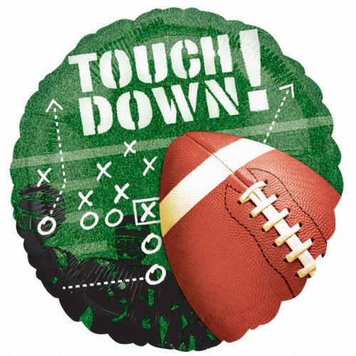 Football Frenzy Foil Balloon Party Accessory - 1