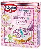Dr.Oetker Prinzessin Lillifee Glitzerschrift 45g