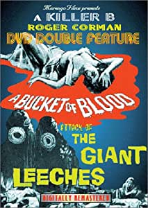 Bucket of Blood & Attack of the Giants Leeches [DVD] [1959] [Region 1] [US Import] [NTSC]