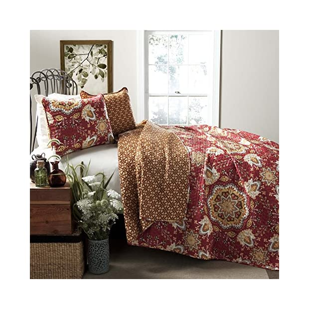 Addington 3 piece Quilt