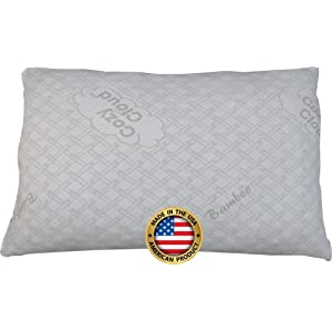 CozyCloud<sup>™</sup> Bamboo Shredded Memory Foam Pillows width=