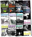Peter Robinson Inspector Bank Mystery Collection Peter Robinson 12 Books Set Pack RRP £83.88 (An Inspector Bank Mystery) (Peter Robinson Collection) (The Hanging Valley, Dry Bones That Dream, Strange Affair, Friends of the Devil, Piece of My Heart, Bad