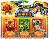 Skylanders Giants - Triple Character Pack - Compatible with Trap Team (Wii/PS3/Xbox 360/3DS)
