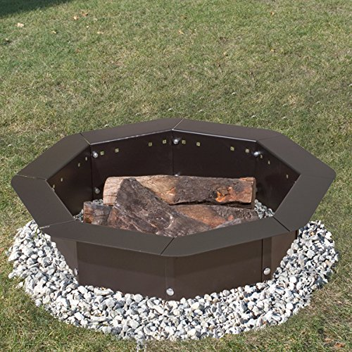 Heavy Duty Fire Pit : Heavy duty bolt together campfire ring or fire pit insert