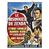 Prisoner of Zenda Poster Movie Belgian 11x17 Stewart Granger Deborah Kerr Louis Calhern James Mason