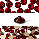 SIAM (208) dark red Swarovski NEW 2088 XIRIUS Rose 20ss 5mm flatback No-Hotfix rhinestones ss20 144 pcs (1 gross) *FREE Shipping from Mychobos (Crystal-Wholesale)*