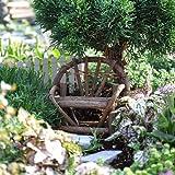 1 X Miniature Fairy Garden Vine Twig Bench