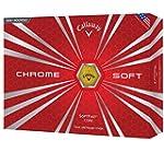 Callaway Chrome Soft White Golf Balls 12-Ball Pack