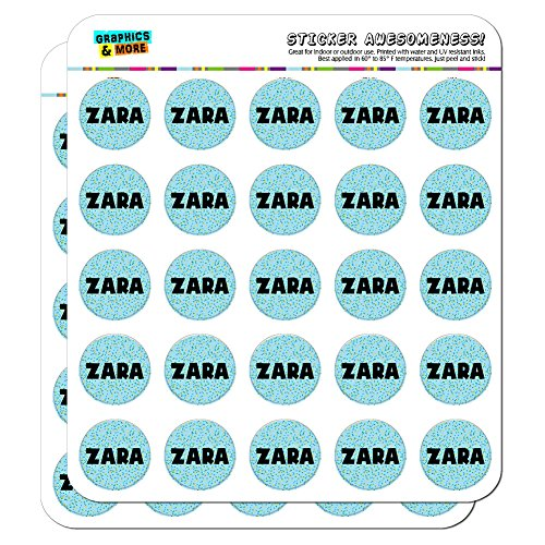 zara-name-scrapbooking-crafting-stickers-blue-speckles-50-1-stickers