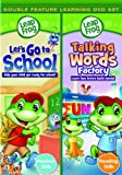 Leapfrog: Let's Go To School / Talking Words Factory (Double Feature)