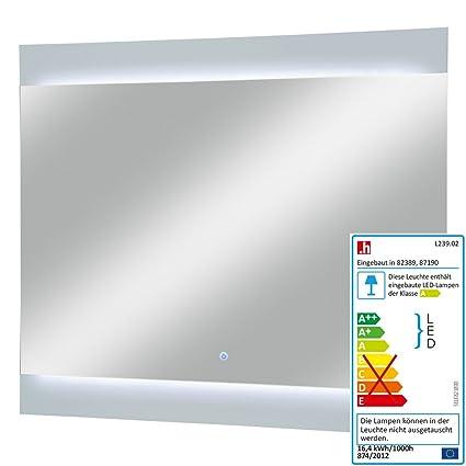 LED Mirror Wicker