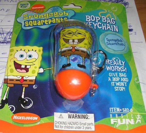 Spongebob Squarepants Bop Bag Keychain - 1