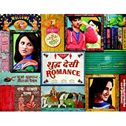 Shuddh Desi Romance - BLU-RAY (Hindi Movie / Bollywood Film / Indian Cinema)