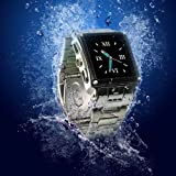 61ZCTTHntXL. SL160  MW08 Water Proof Stainless Steel Quad Band Unlocked Watch Mobile Phone