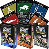 Exercise Cards: Strength Stack 52 Bodyweight Workout Playing Card Game