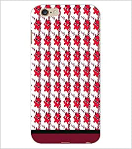 PrintDhaba Cartoon Pattern D-1740 Back Case Cover for APPLE IPHONE 6 (Multi-Coloured)