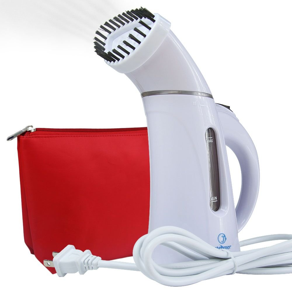 Portable Frabric Steam Cleaner Mini Travel Garment Steamer with Zipper Waterproof Travel Pouch