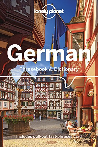Lonely Planet German Phrasebook & Dictionary [Lonely Planet] (Tapa Blanda)