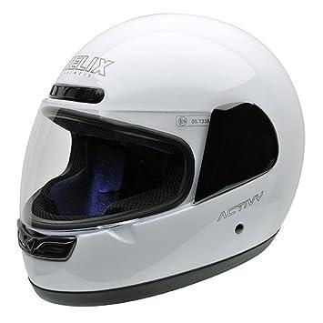 NZI 150244G113 Activy Classic White, Casque de Moto, Taille M Blanc