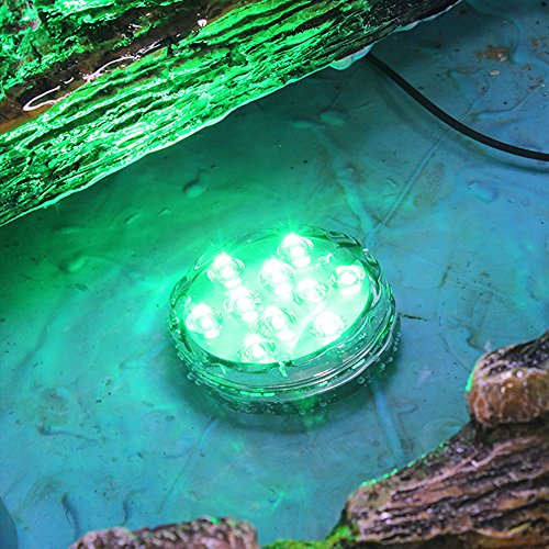 Hallomall Multicolor Submersible Led Lights Underwater
