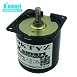 Fetcus 110V Synchronous AC Gear Motor Mini Electric Motor Reducer Low Speed Metal Gear Motor for Barbecue Wholesale - (Speed: 110V 60rpm) (Tamaño: 110V 60rpm)