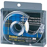 3M スコッチ はってはがせるテープ 18mm×15m 芯25mm ディスペンサー付 811-1-18D