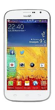 Iron 5 Venom 8GB Color blanco Smartphone débloqué (5 pouces - 8 Go) Blanc (import Espagne)
