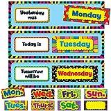 Creative Teaching Press Poppin' Patterns Days of the Week Mini Bulletin Board (6916)