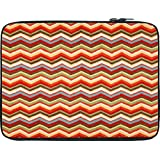 Snoogg Waves Pattern Reddish 2525 12 To 12.6 Inch Laptop Netbook Notebook Slipcase Sleeve