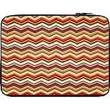 Snoogg Waves Pattern Reddish 2525 12 To 12.6 Inch Laptop Netbook Notebook Slipcase Sleeve