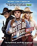 A Million Ways to Die in the West [Blu-ray + DVD + UltraViolet]