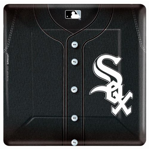 "Chicago White Sox 10"" Square Plates - 1"