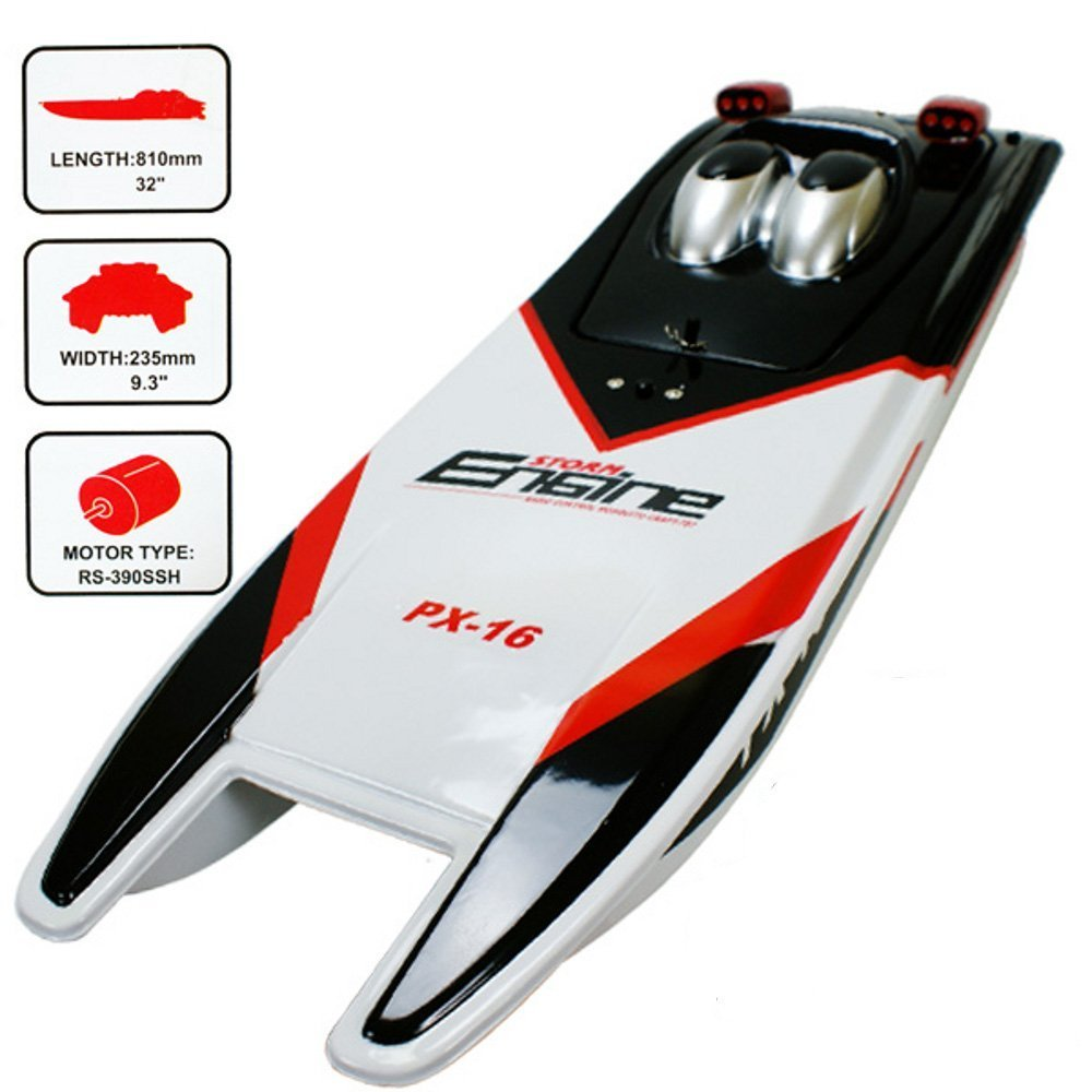 "ThinkMax Storm Engine 32"" PX-16 Super Power Speed Racing RC Boat"