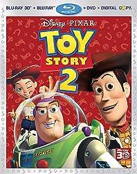 Toy Story 2 (Four-Disc Combo: Blu-ray 3D/Blu-ray/DVD + Digital Copy)