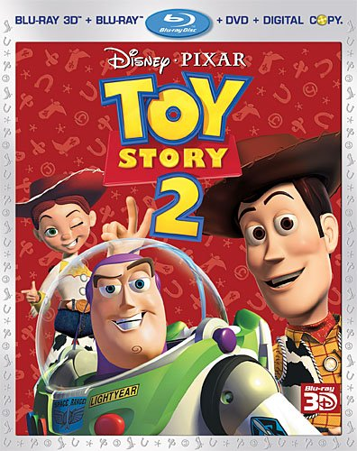 Cover art for  Toy Story 2 (Four-Disc Combo: Blu-ray 3D/Blu-ray/DVD + Digital Copy)