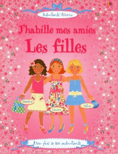 J'habille mes amies : Les filles
